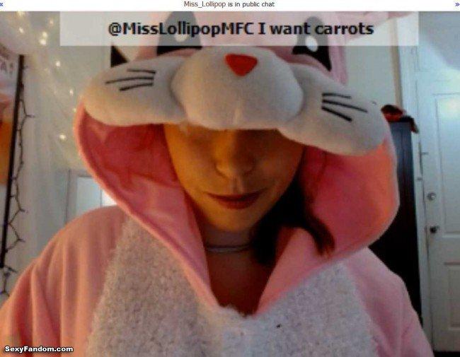 Sexy Fandom: Miss Lollipop Bunny Kigurumi https://t.co/mRcIA9lB3u...