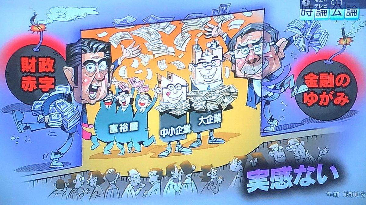 NHKの時論公論は、夜中の比較的...