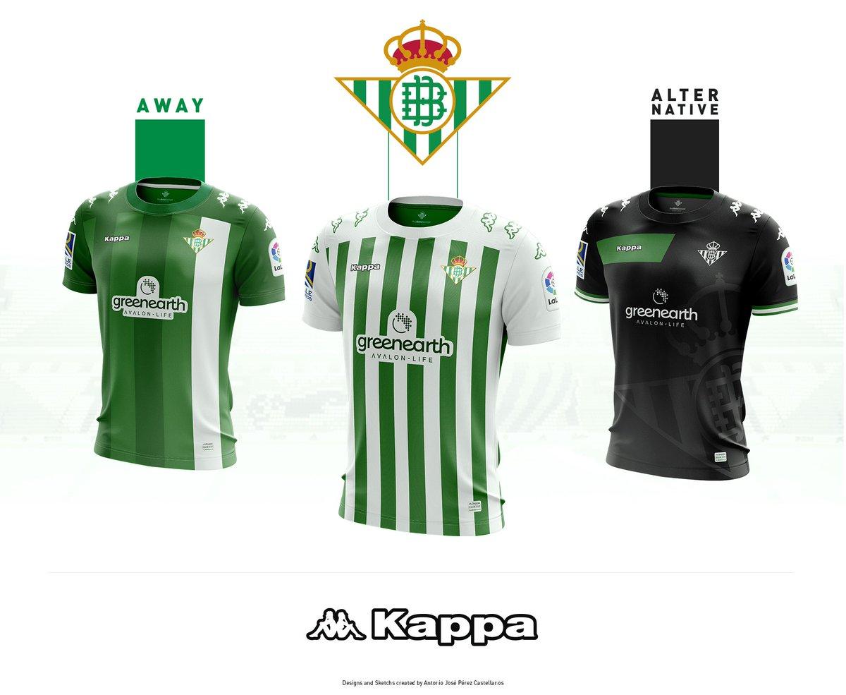 equipacion Real Betis nuevo