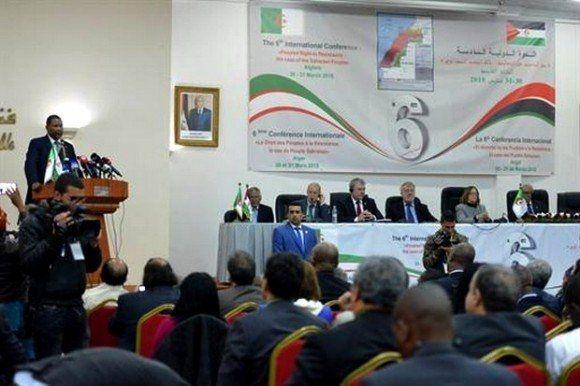 Resultado de imagem para VI Conferencia Internacional sobre El derecho de los pueblos a la resistencia: el caso del pueblo saharaui