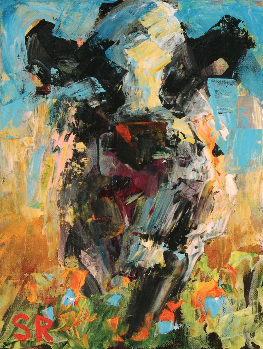 Sam Raines On Twitter Large Cow Painting Farm Animal Art