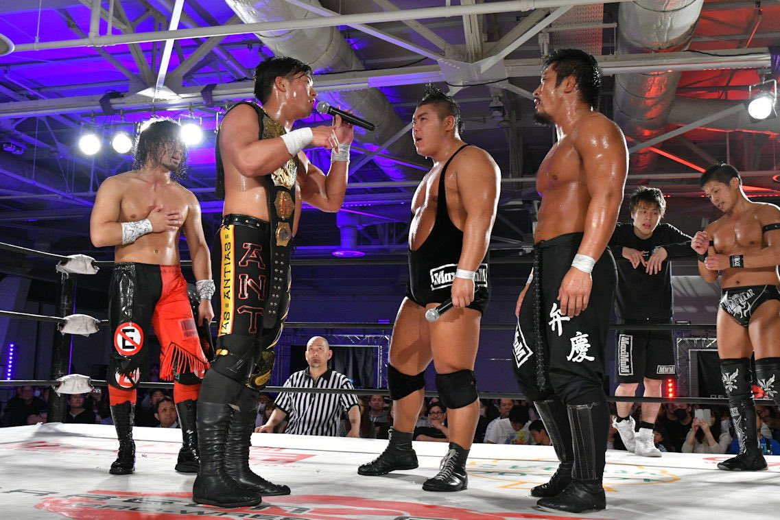 "Dragon Gate: ""Glorious Gate 2018"" inició la disputa por título vacante 5"