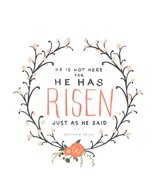 'He is not here; he has RISEN, just as he said.' — Matthew 28:6  Happy Easter, everyone! 🐰 @FoxNews @foxandfriends