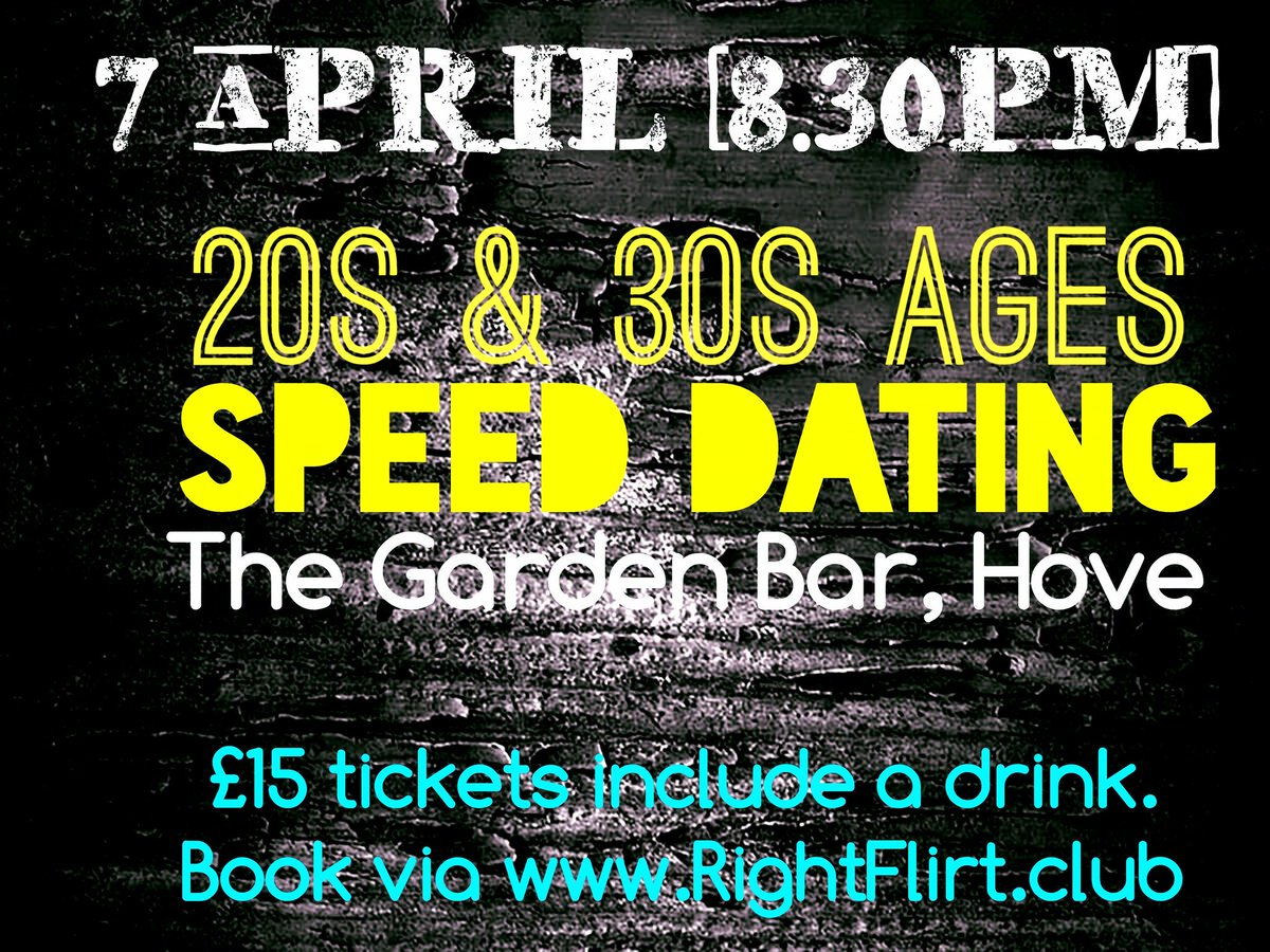 garden bar speed dating