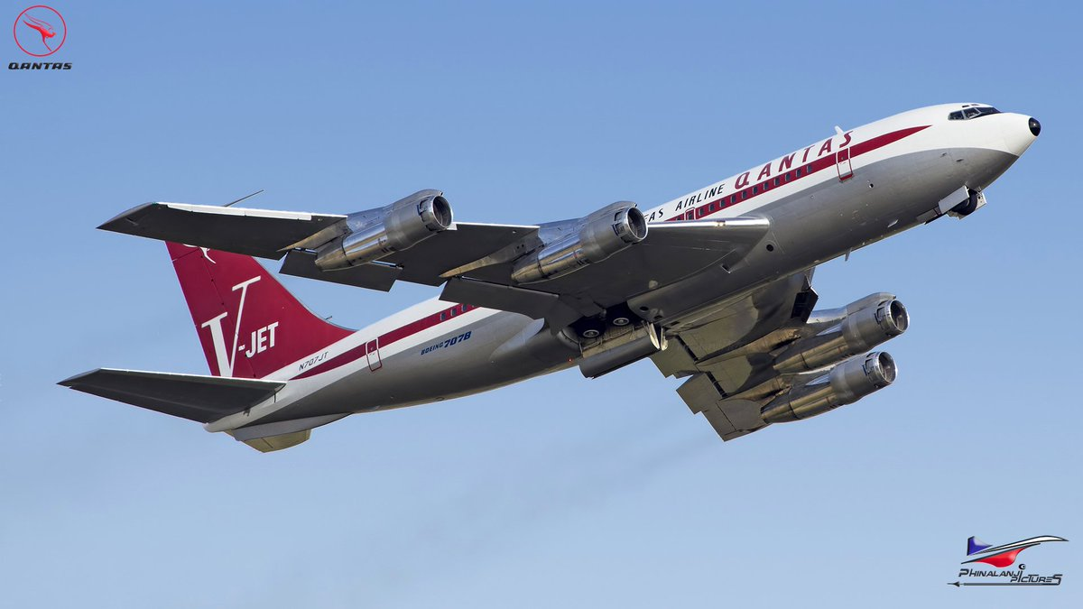 Phinalanji On Twitter Qantas Boeing 707 138b N707jt John Travolta S Boeing 707 Hd Https T Co Rtysn6a6sa