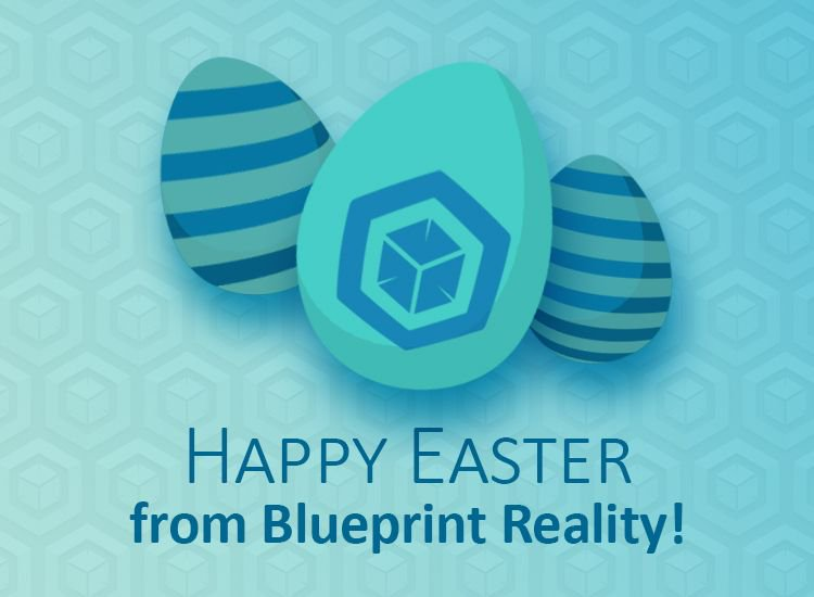 Blueprint reality nabshow blueprntreality twitter happyeaster from all of us here at blueprint reality speaking of which has anyone made a vr egg hunting game yet easterweekendpicitter malvernweather Images