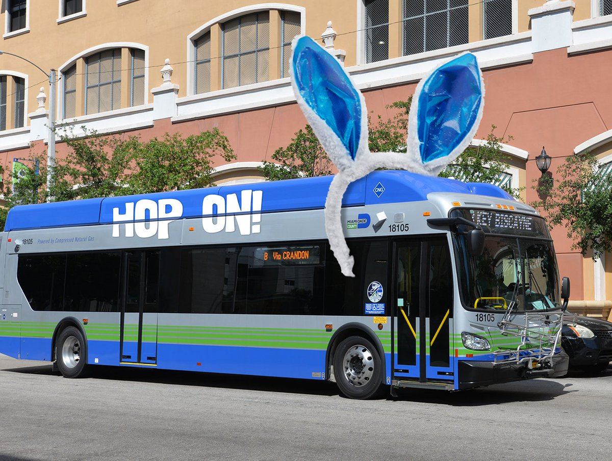 """miami-dade dtpw on twitter: """"new #cng buses are already in service"""