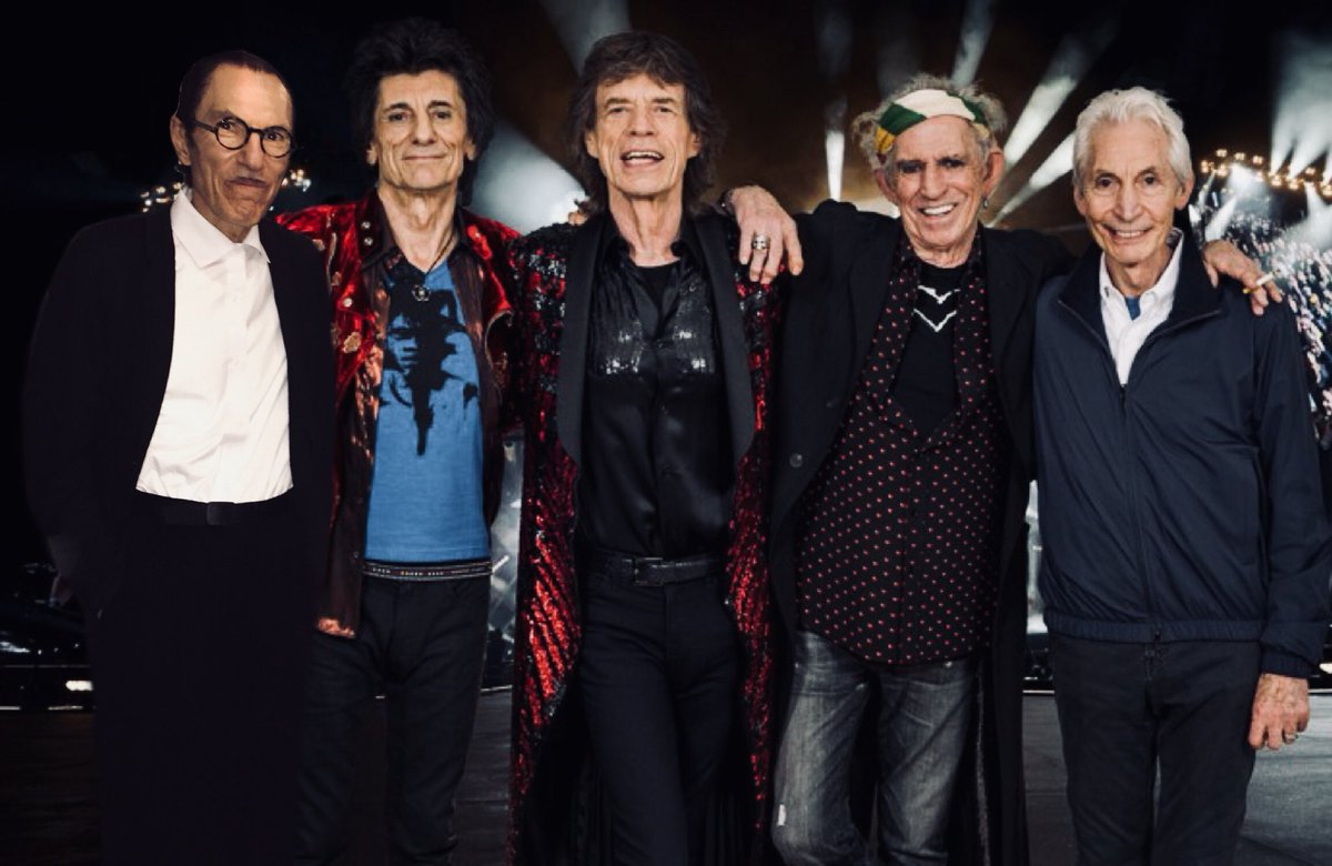 """SPARKS on Twitter: """"BREAKING NEWS - Ron Mael joins @RollingStones ..."""