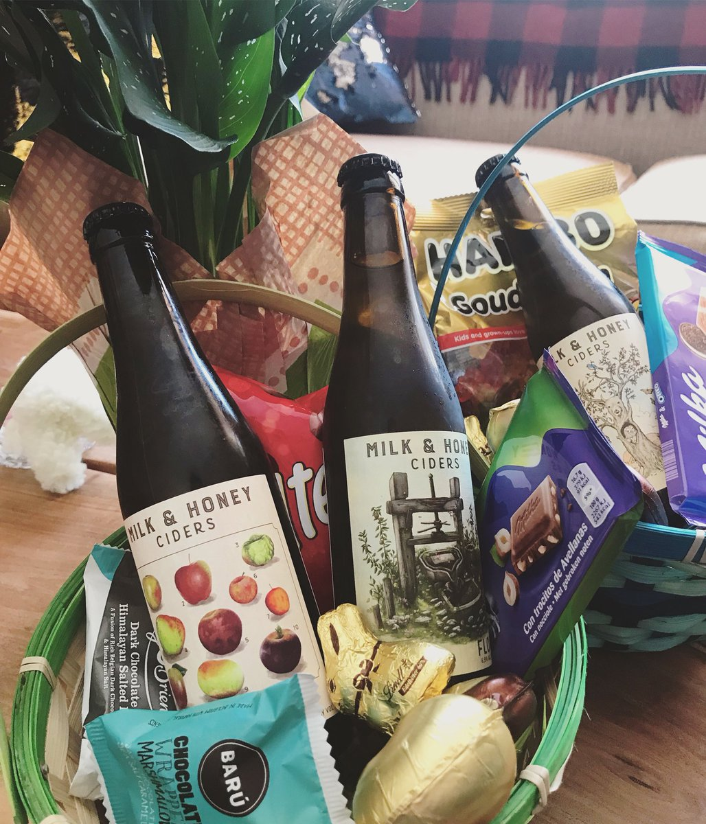 Milk Honey Ciders On Twitter Easter Bunny Was Way On Point This
