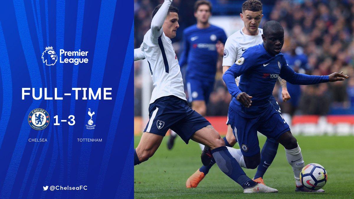 Chấm điểm kết quả Chelsea 1-3 Tottenham