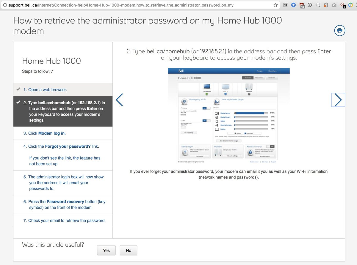 what is administrator password bell