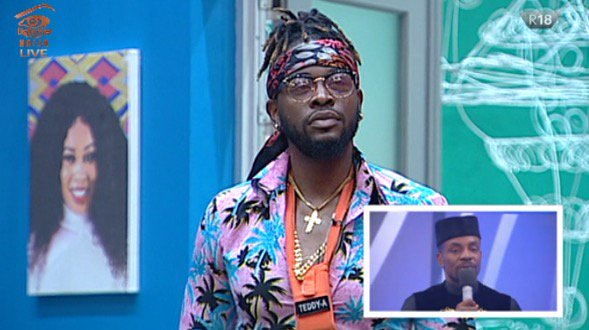 #BBNaija 2018 Week 9 Eviction Teddy A evicted from the Big Brother Naija game
