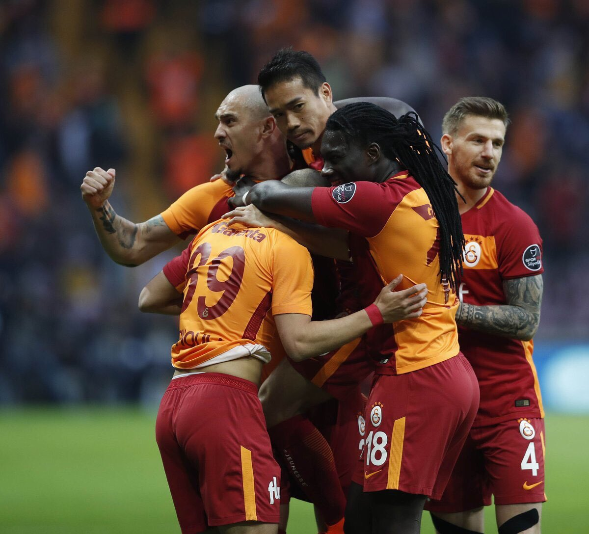 We are galatasaray 💪💪🔥🔥🦁
