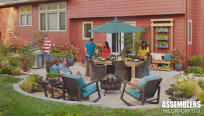 ... Perfect Patio Setup For Your Home This Spring And Summer Season? Weu0027re  The Professionals To Call. From Grills To Patio Furniture, We Assemble It  All!
