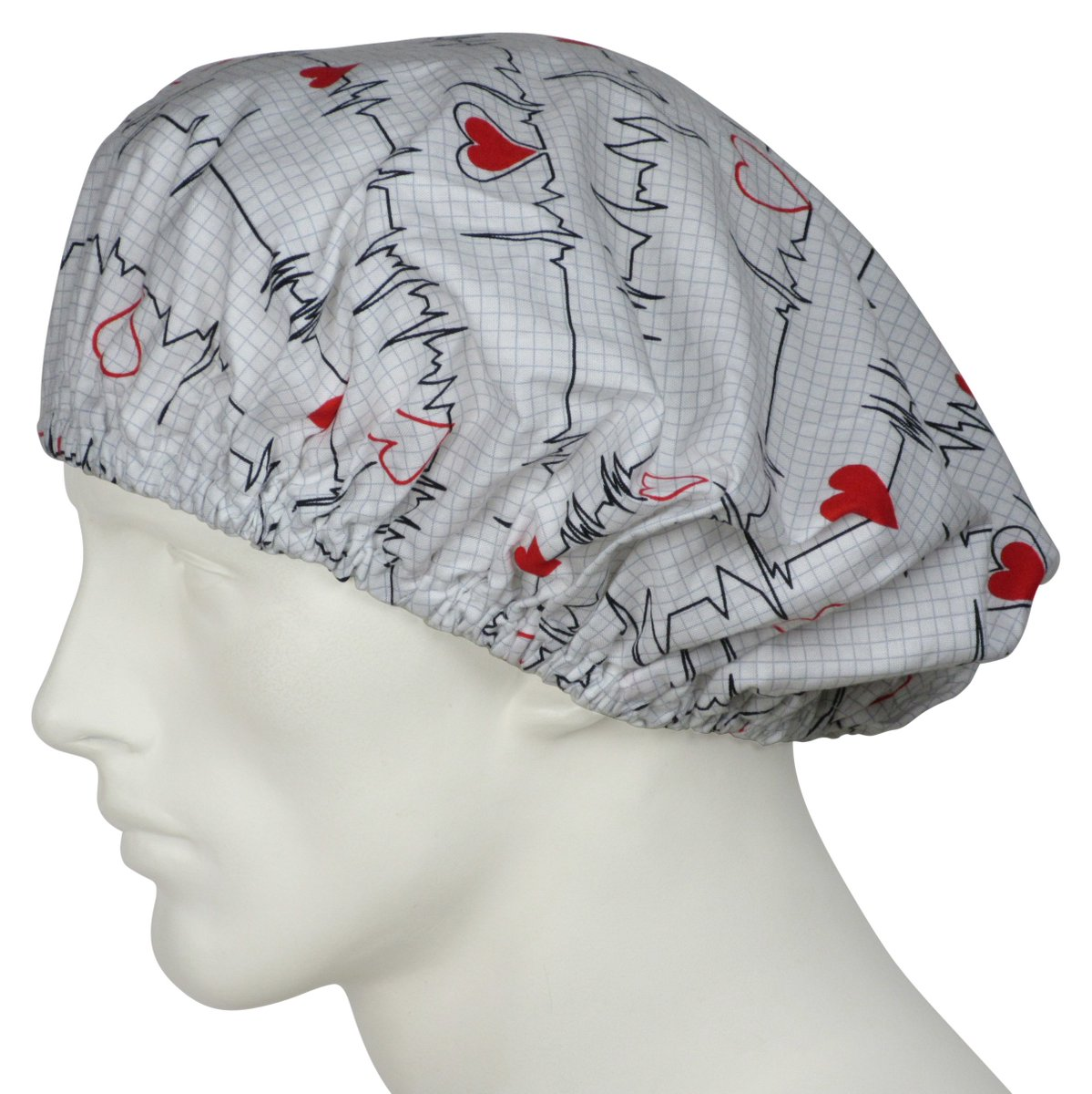 1d2d0253740 Bouffant Scrub Caps, Bouffant Surgical Caps USA Made In Stock Ships  Worldwide Daily 100% Cotton designer fabrics Top Quality USA Sewing  #bouffantcaps ...