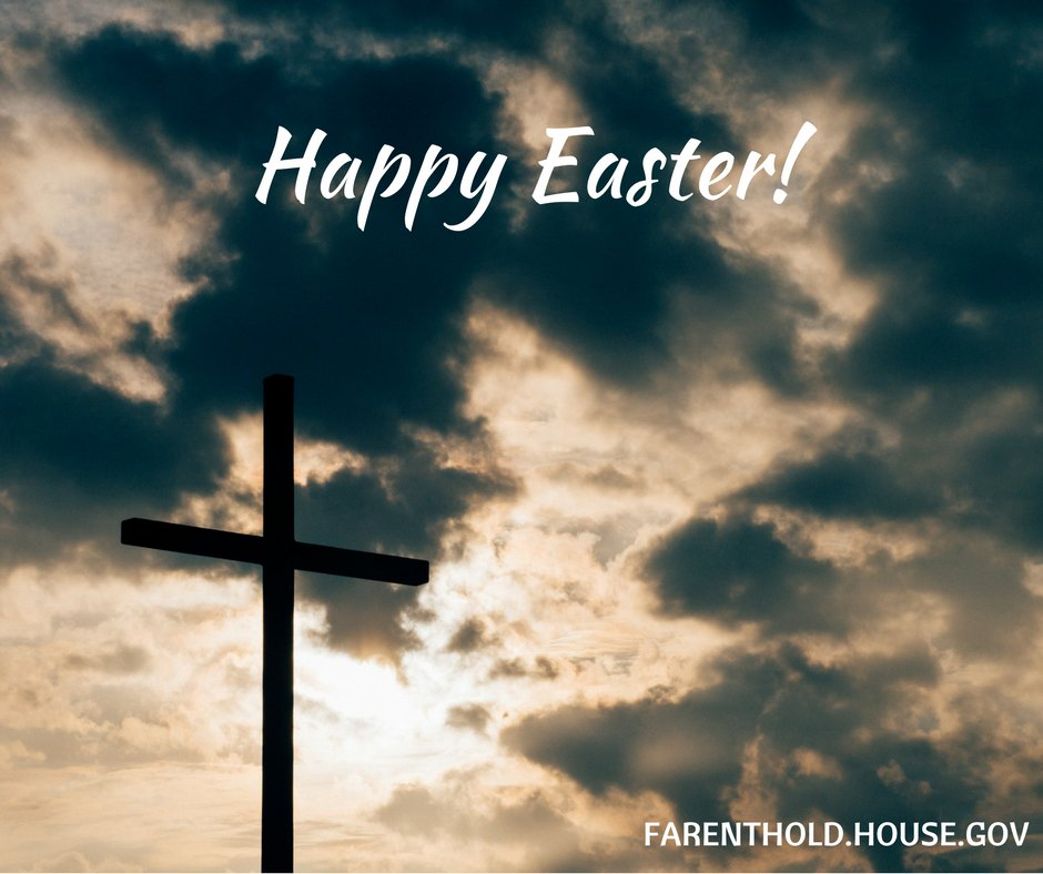 From my family to yours, Happy Easter! We wish you a blessed holiday with your family and loved ones.