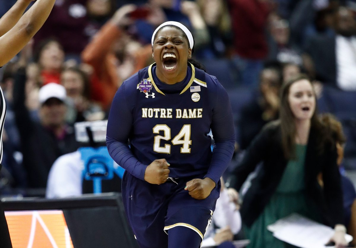 She does it AGAIN!!  Notre Dame wins the Women's National Championship!