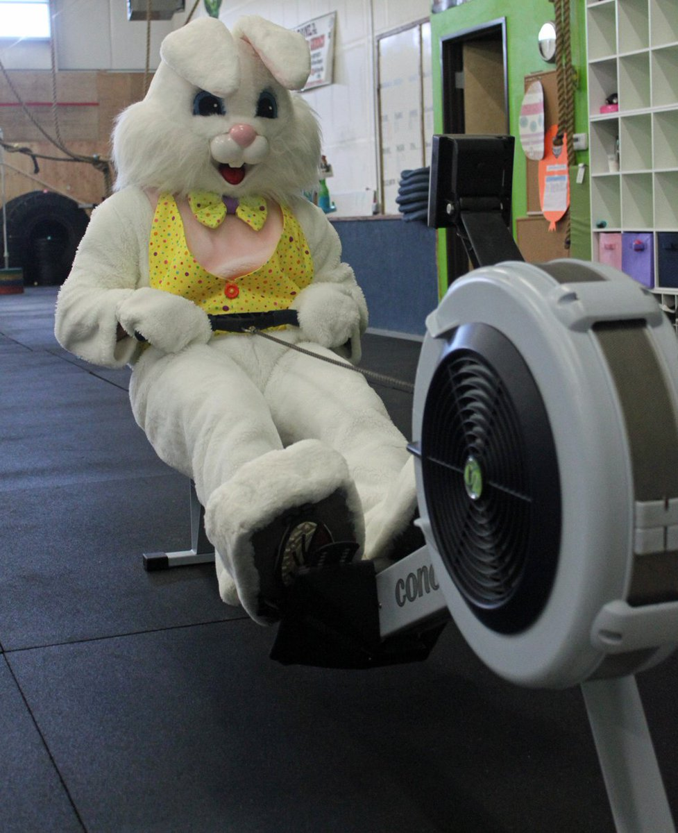 Nick Thomas On Twitter Even The Easter Bunny Needs To Work Off