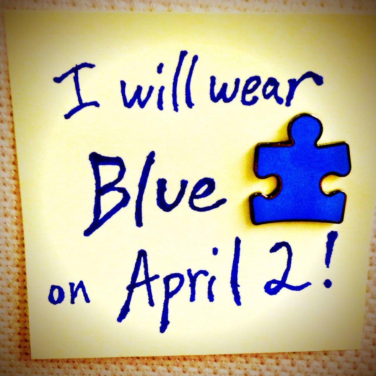 WorldAutismAwarenessDay: Are You Wearing Blue