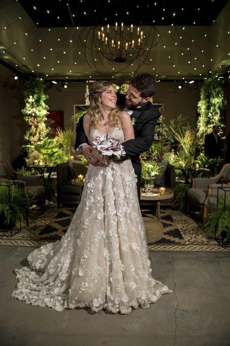 La foto oficial del casamiento de Dalma Maradona