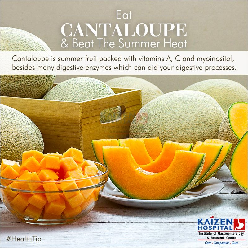Kaizen Hospital Pa Twitter Healthtip Eat Cantaloupe Beat The Summer Heat Cantaloupe Is Summerfruit Packed With Vitamins A C And Myoinositol Besides Many Digestive Enzymes Which Can Aid Your Digestive Processes The favorite choice for the term cantaloupe is 1 cup of balls of. twitter