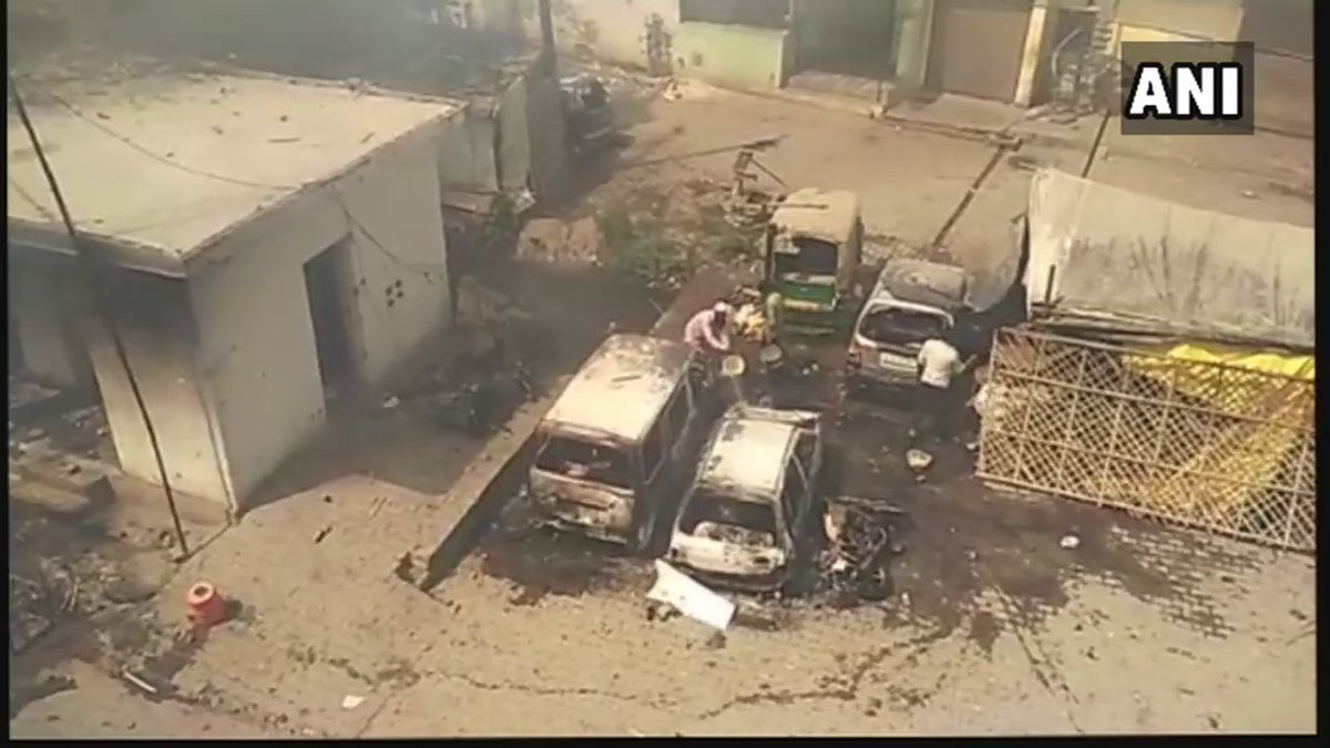 #BharatBandh over SC/ST protection act: Protest turns violent in Barmer, cars and property damaged.  #Rajasthan