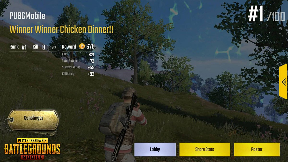 Pubg Mobile On Twitter How Many Of You Won A Chicken Dinner