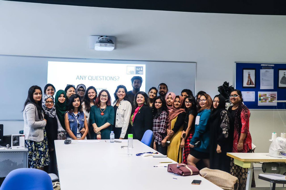 Amity Uni Dubai On Twitter Amitydubai Hosted A Special Guest Lecture With The Renowed Gallegoara Founder And Editor In Chief Dxbfashionnews For The Students Of Fashion Designing The Students Were Very Enthusiastic