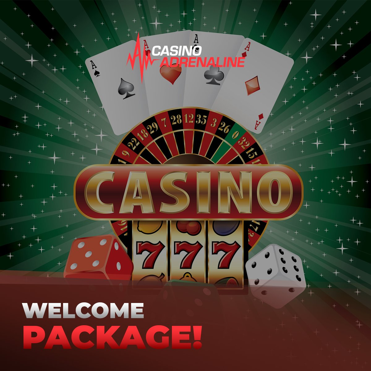 test Twitter Media - You haven't played our online casino yet? Don't miss our welcome package for new players! 😁 #CasinoAdrenaline #enjoythegame #welcomepackage #CasinoAdrenalingaming #casinos #slot #casinoluck https://t.co/5kH3PZyzTk