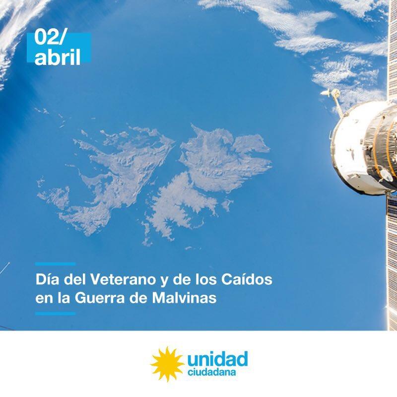 2 de abril, Día del Veterano y de los Caídos en la Guerra de Malvinas.   #MalvinasArgentinas ���� https://t.co/pBDUBMa0C2