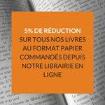 Image for the Tweet beginning: Visitez notre librairie en ligne