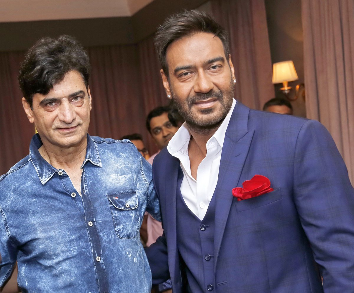 Happy Birthday @ajaydevgn. Always a pleasure working with someone like you who is not just talented but a great human. Stay blessed & have a great year ahead! #HappyBirthdayAjayDevgn