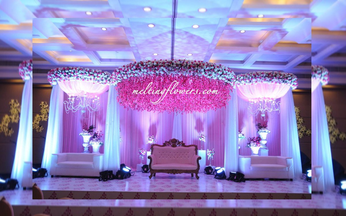 Receptionstage hashtag on twitter get quote for decorating your wedding stage across south india httpmeltingflowersbackdropml weddingstage stage weddingbackdrop junglespirit Image collections