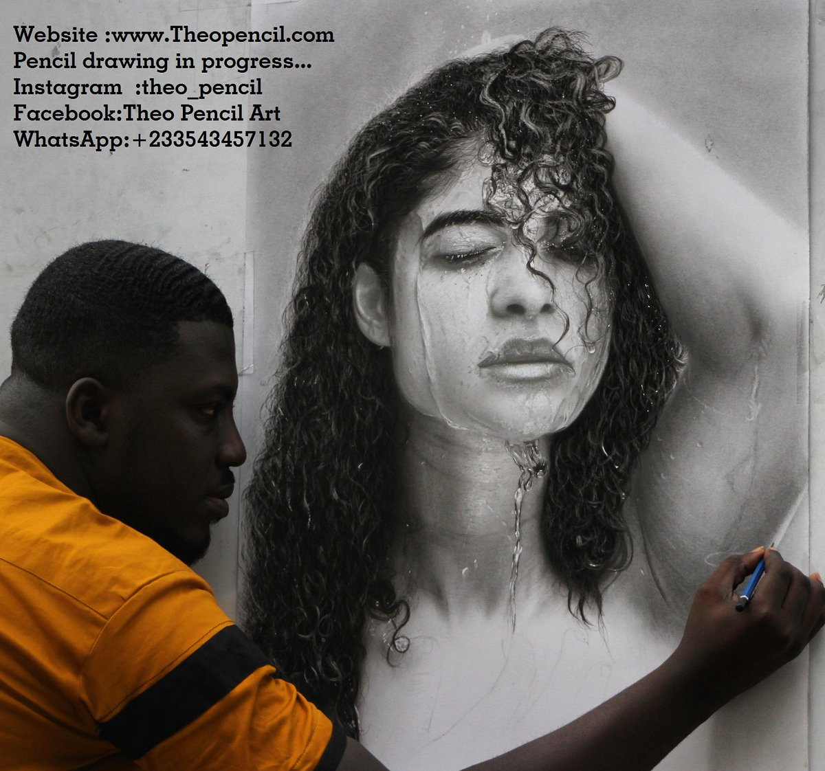 Theo pencil on twitter pencil drawing in progress by theopencil websitehttps t co wkzhc5sdp9 whatsapp 233543457132
