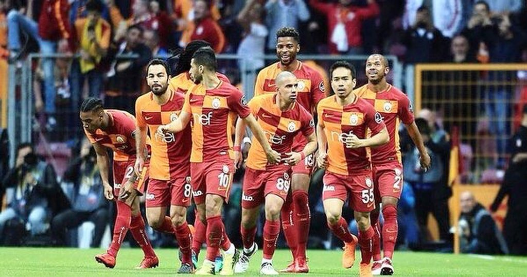 We are strong 💪💪🦁🦁🔥🔥🔝 @GalatasaraySK