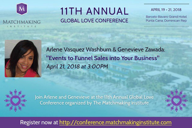 matchmaking institute conference 2018