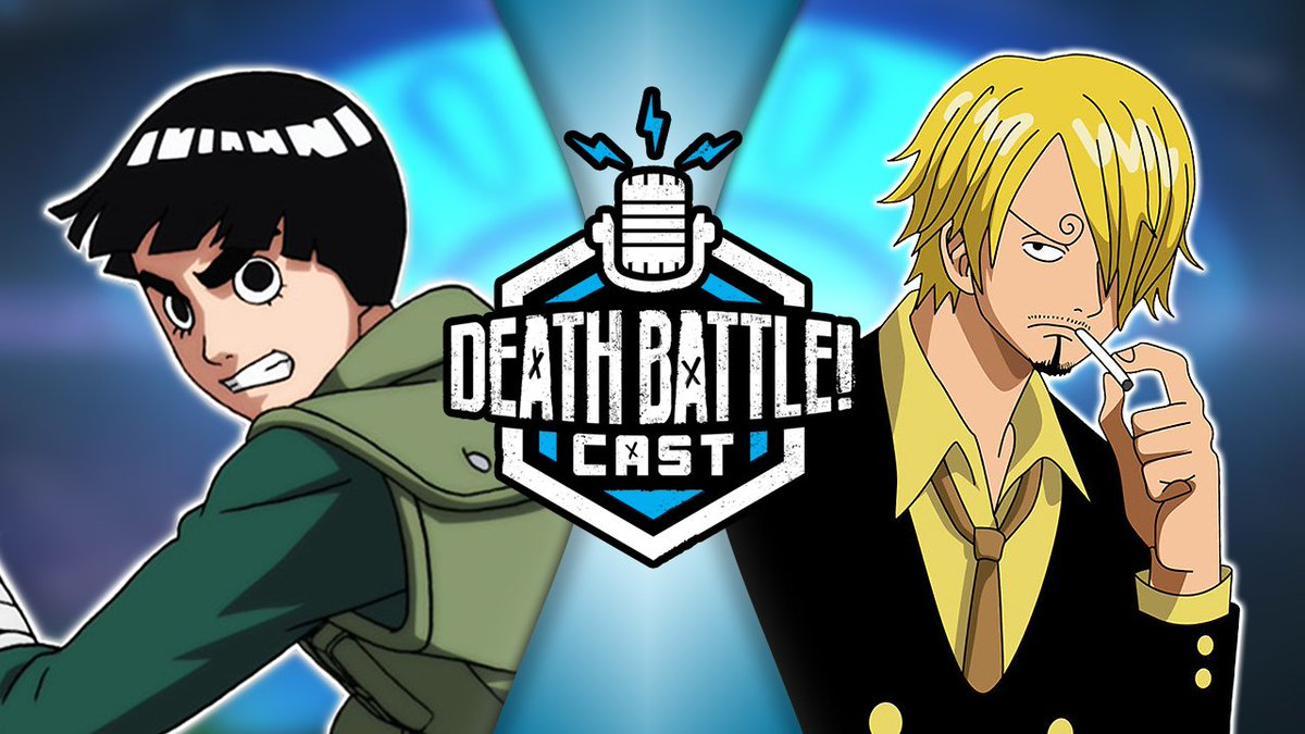 Death Battle On Twitter Did You Miss The Latest Deathbattlecast The New Community Death Battle Is Rock Lee From Naruto Vs Sanji From One Piece Https T Co Ijdugrr3xc Vote For Your Winner Above