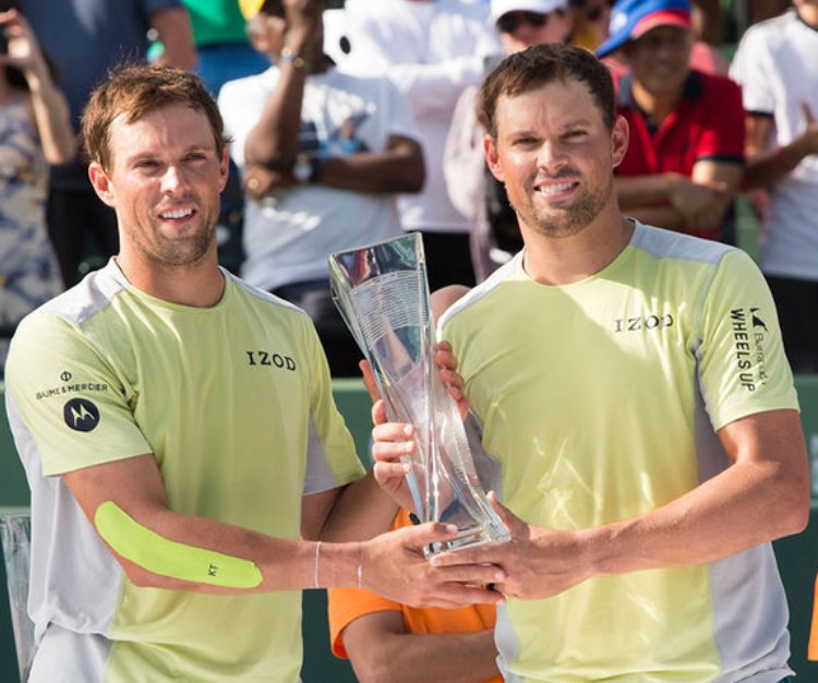 Congrats to @Bryanbros and @Bryanbrothers on their win in Miami this weekend! #MiamiOpen