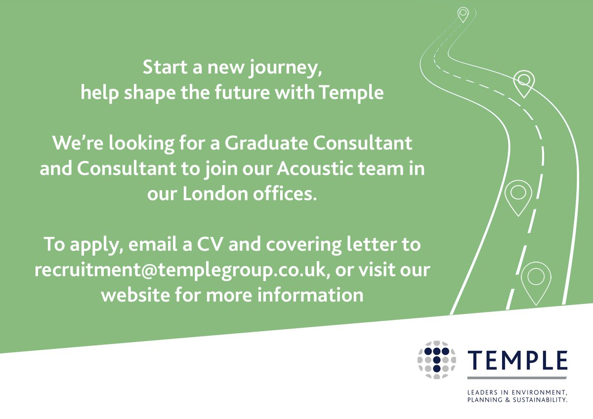Temple Group TempleGroup Twitter - Acoustic Consultant Cover Letter