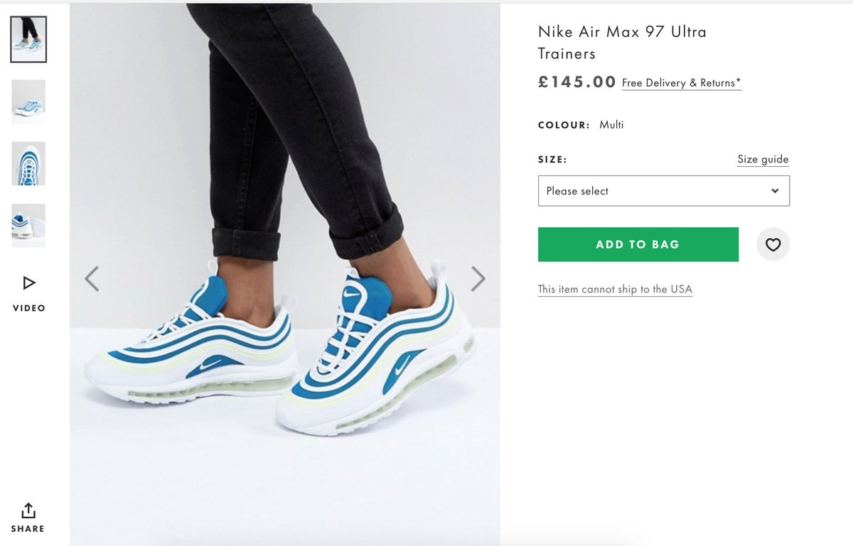 san francisco 245c7 bc08c ... free shipping the sole restocks on twitter nike air max 97 sprite w.  now live