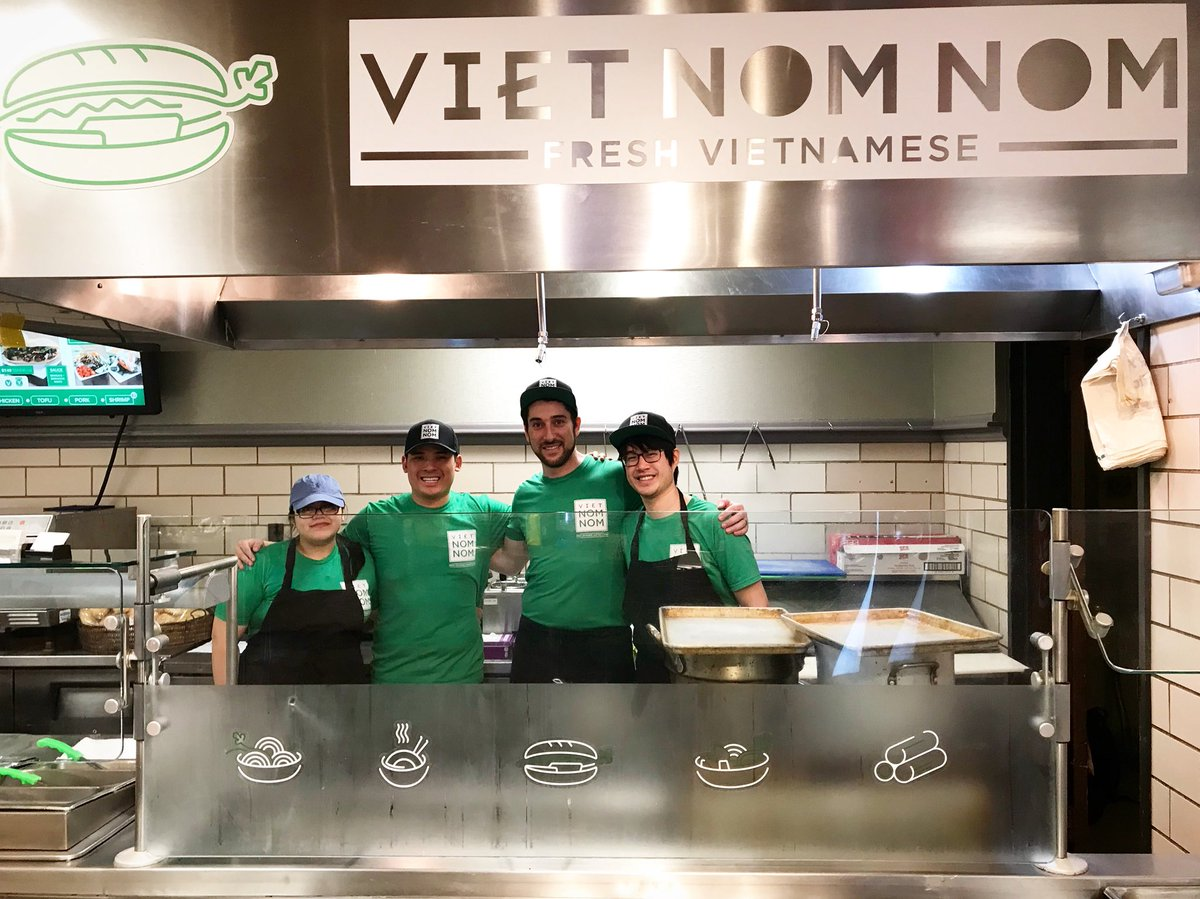 """Viet Nom Nom on Twitter: """"We're hereeeeeeee! Welcome back from spring break, @NorthwesternU friends — start the new quarter off with fresh NOMs at our new campus kiosk in the Norris Center"""