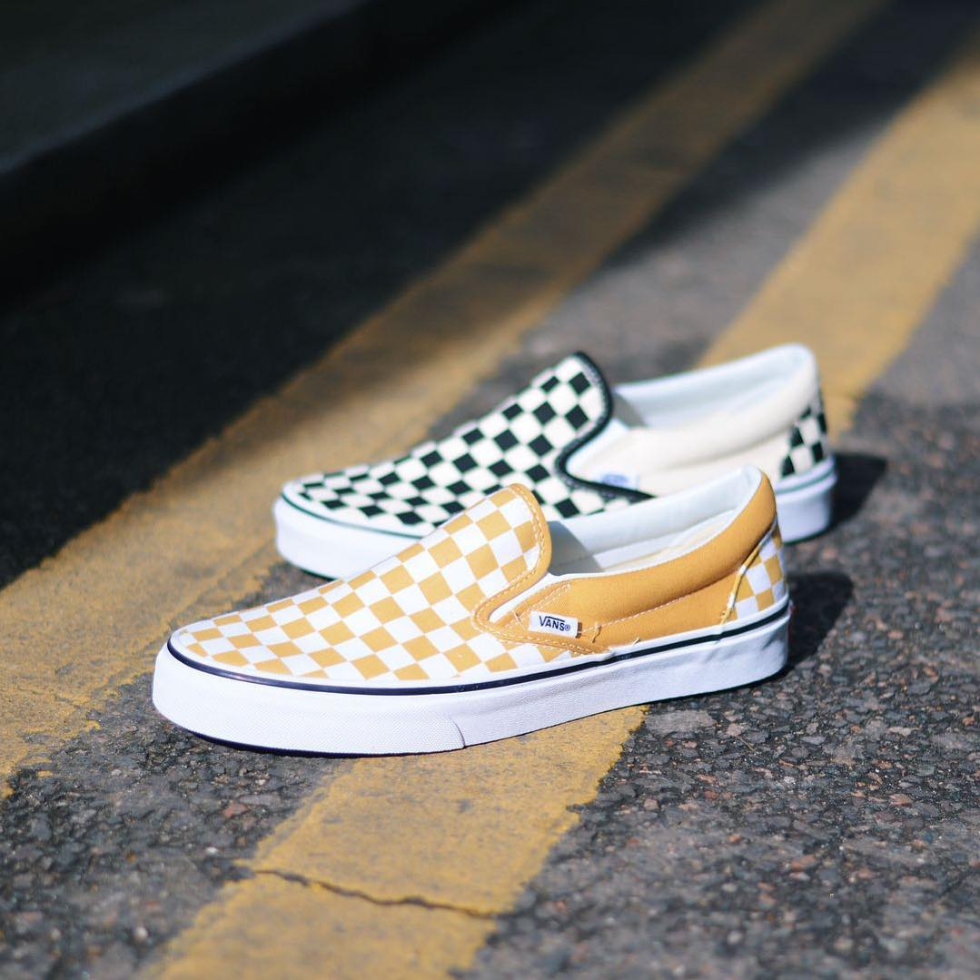 The Vans Classic Slip-On Checkerboard