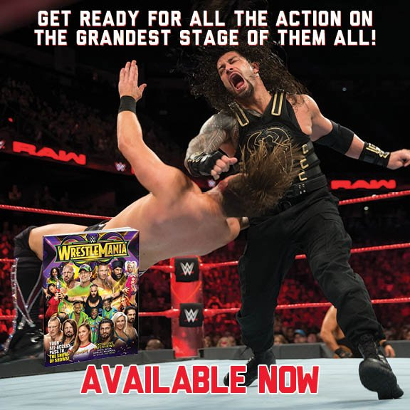 Each Superstar has something to gain and everything to lose! Find out what @WWEs elite will be fighting for when the lights come up in The Big Easy in the Official #WrestleMania 34 Collectors Edition! wwe.me/x9DCif