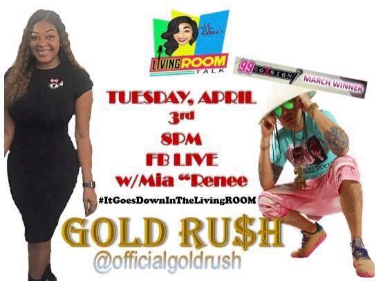 Mia Gold Goes Live Image