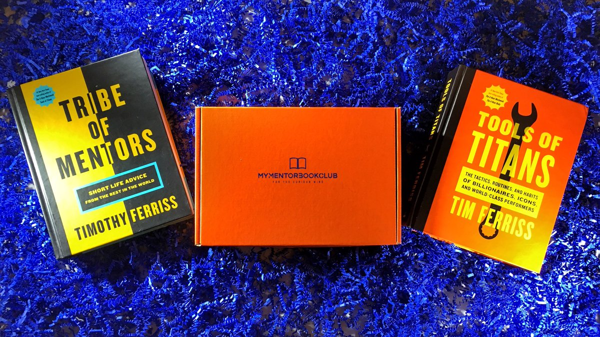 My Mentor Book Club On Twitter Whats Your Favorite Tferriss Tribe Of Mentors Is Mine Nonfiction BookShelf Subscribe Reading