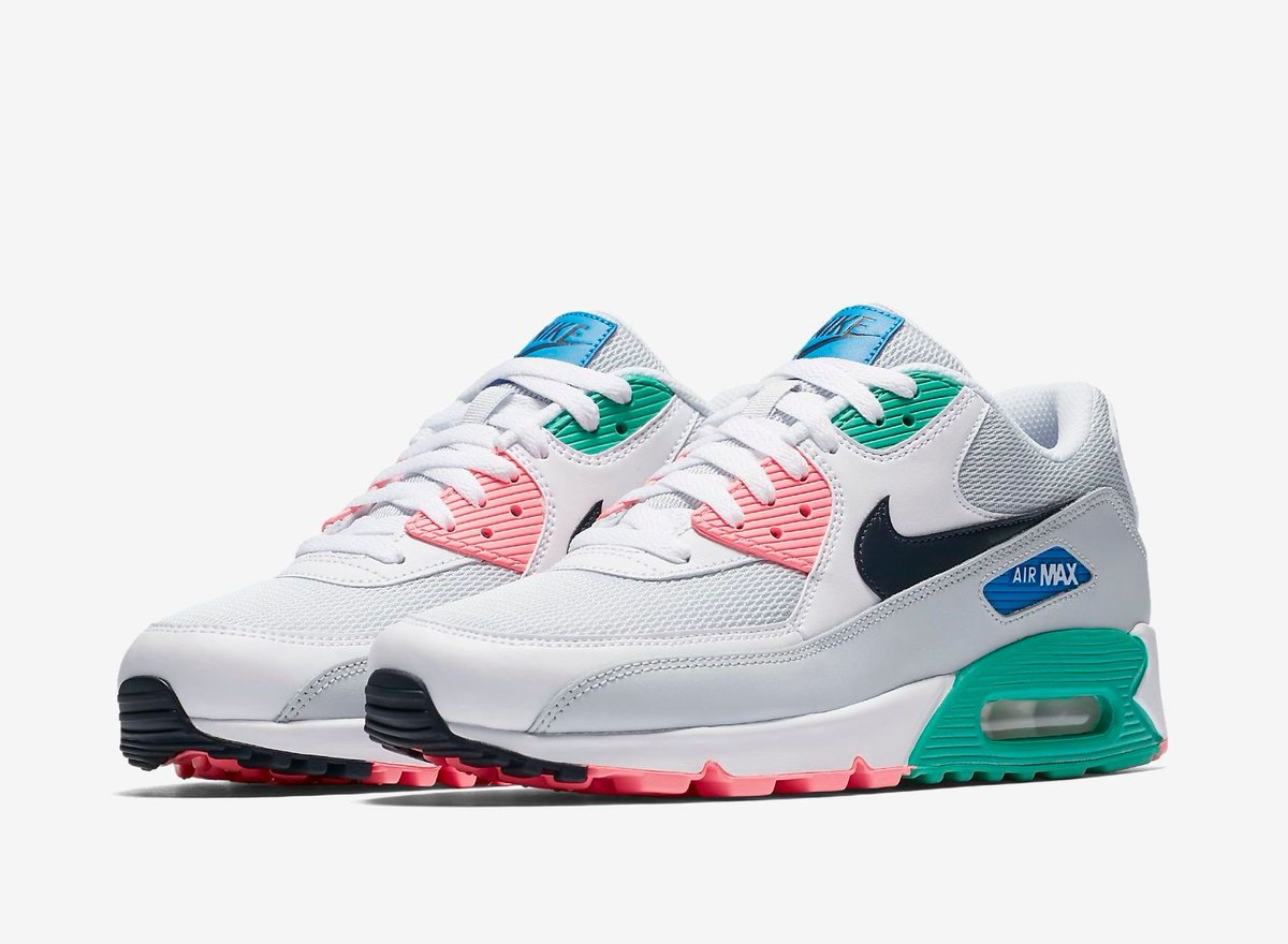4dc8013800 ... cheap kicksfinder on twitter the nike air max 90 summer sea is  available now with free