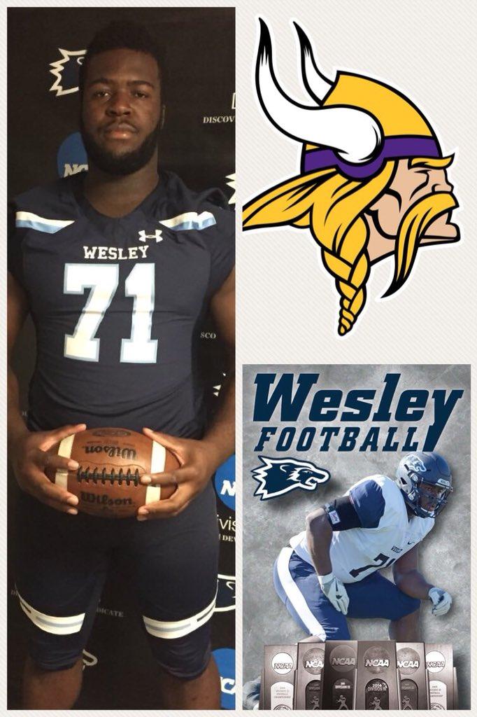 online retailer 87eeb c06ae Wesley Football on Twitter: