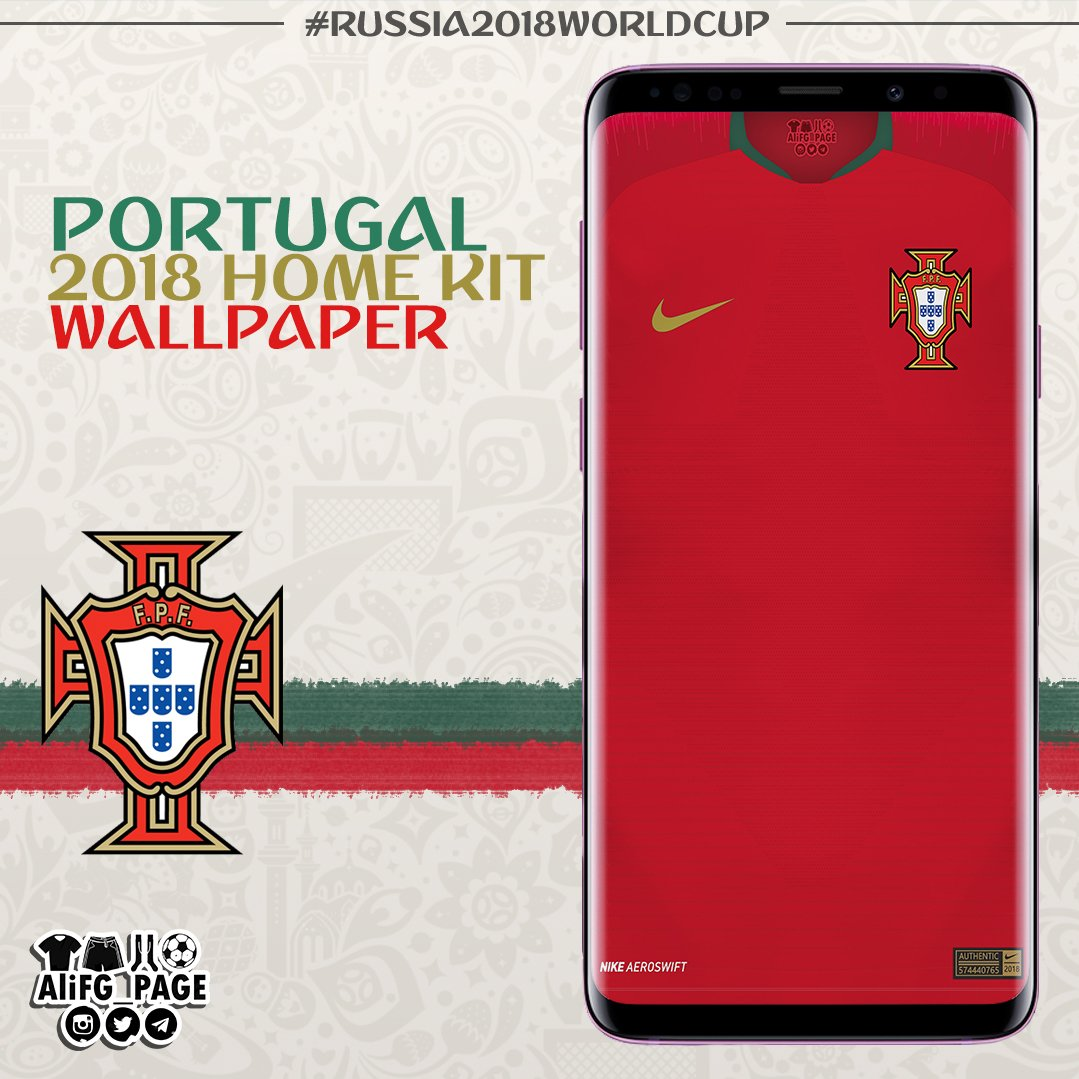 0c280057 #Portugal 2018 WORLD CUP home jersey wallpaper | Made by #Nike (Vapor  Aeroswift) . #kit #kitwallpaperpic.twitter.com/6BGVicOCp8