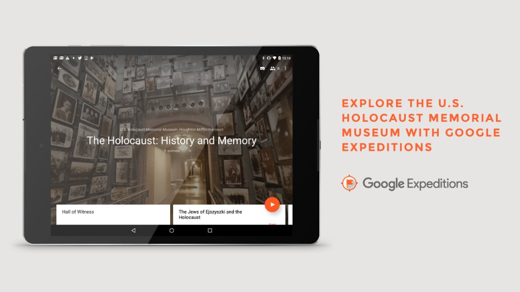 Image result for google expeditions holocaust museum