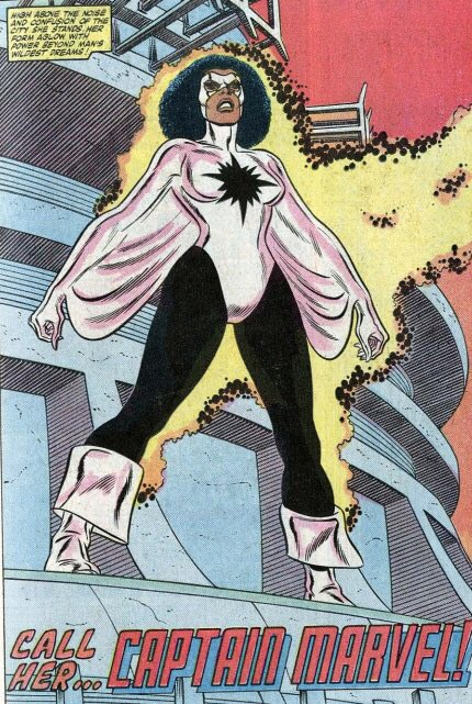 """Mike on Twitter: """"(To complicate things further: in the 80s, another Avenger,  Monica Rambeau, used the Captain Marvel name ... she was Avengers leader  for a while in the 80s)… https://t.co/FYyuzqmNMx"""""""